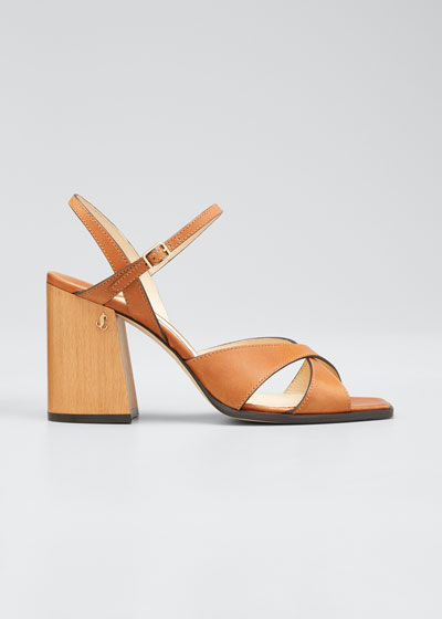 Joya 85mm Leather Sandals