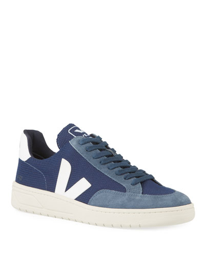 V12 Lace-Up Mesh Sneakers