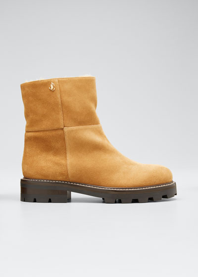 Haysel Suede Winter Booties