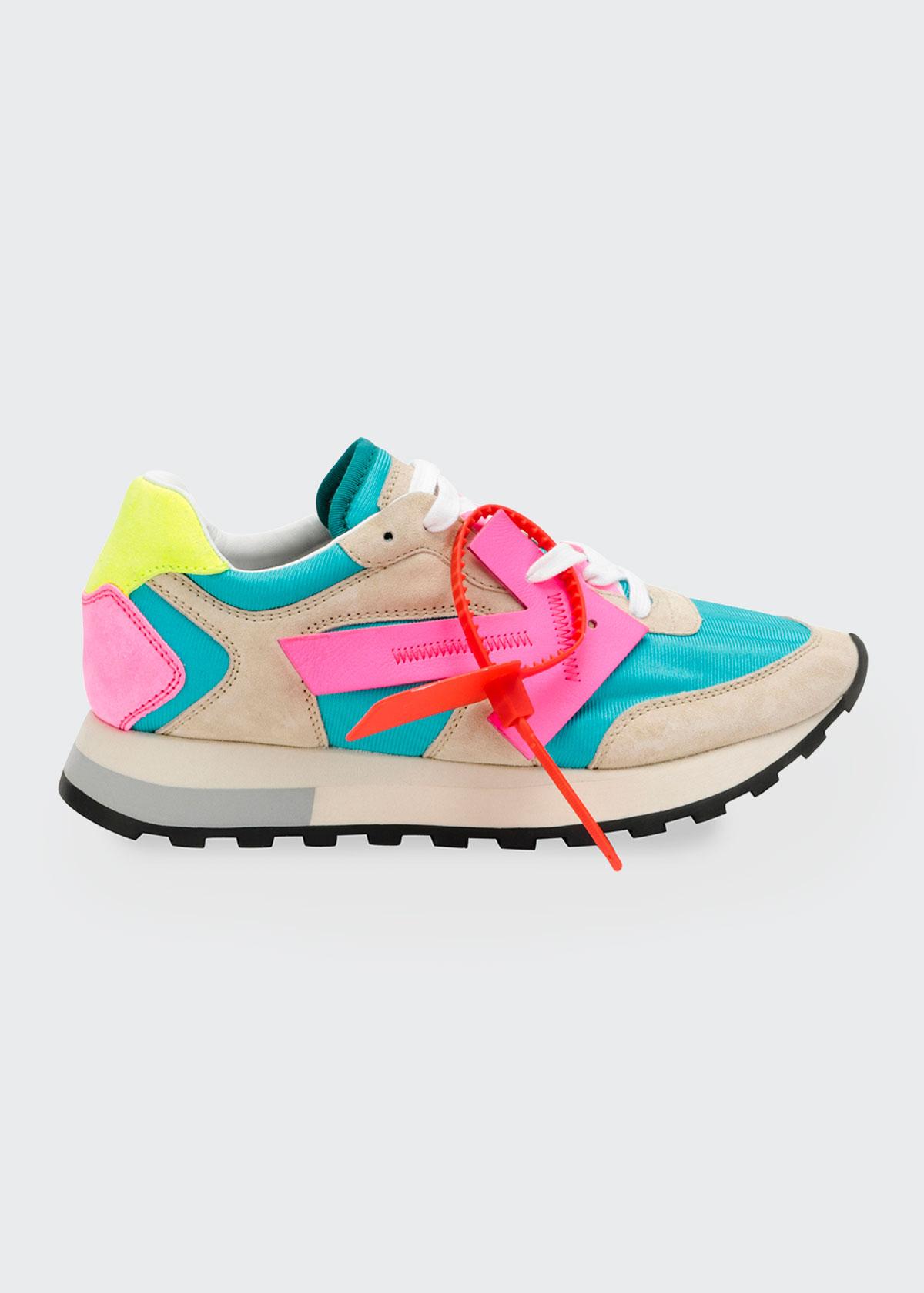 Off-White HG Colorblock Runner Sneakers
