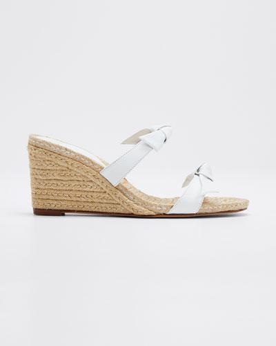 Clarita Braided Wedge Sandals