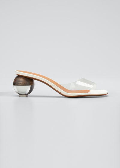 Opus 55mm Ball-Heel Leather Sandals