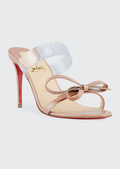 Just Nodo 85 Red Sole Sandals