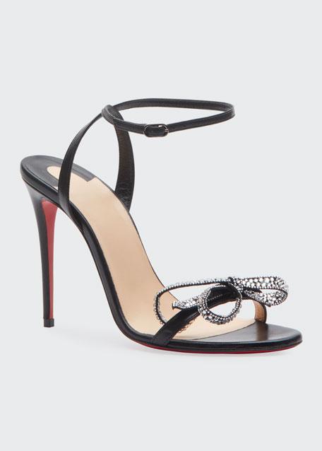 Jewel Queen 100 Red Sole Sandals
