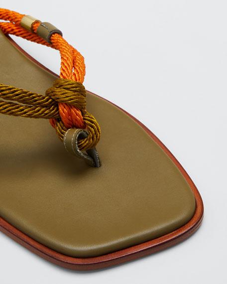 Corda Flip-Flop Slide Sandals