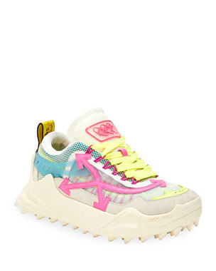 Off-White Odsy-1000 Arrow Lace-Up Sneakers
