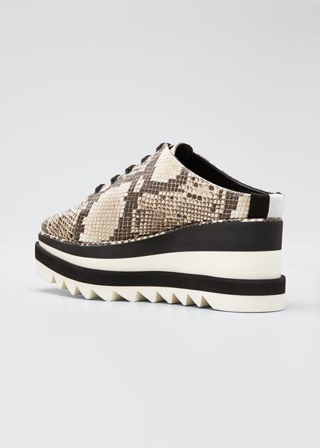 Sneakelyse Platform Mule Sneakers