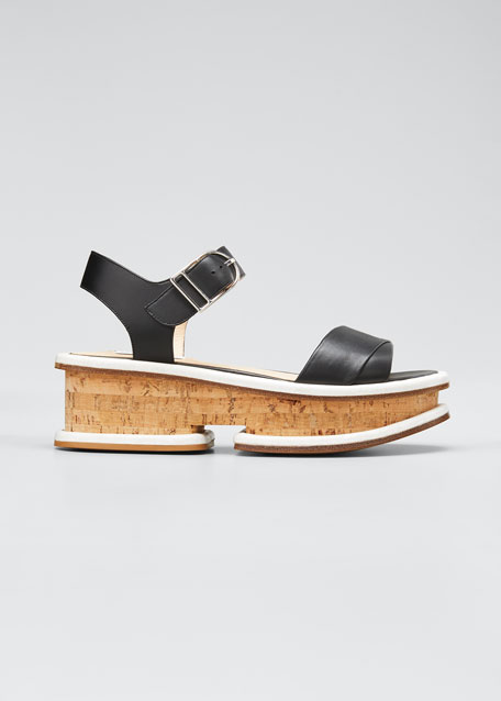 Image 1 of 1: Bradley 25mm Platform Sandals