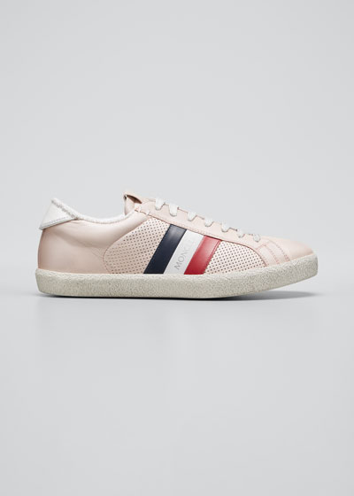 Ryegrass Leather Web Stripe Sneakers