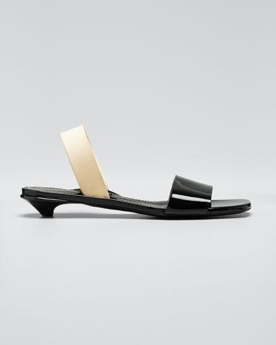 Tic Slide Kitten Sandals