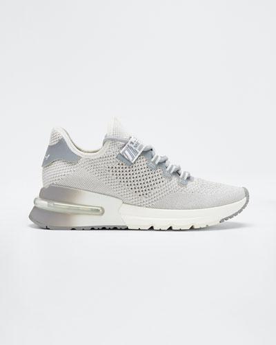 Krush Mixed Media Trainer Sneakers
