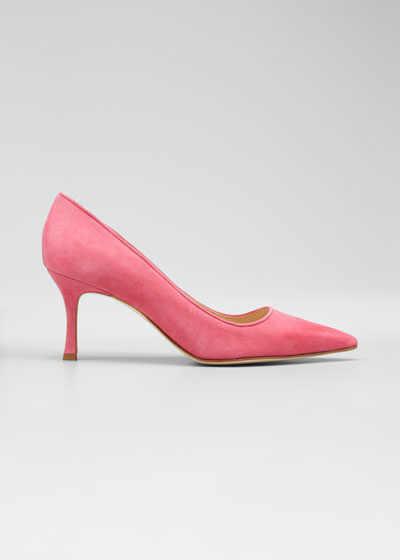Suede 70mm Pumps