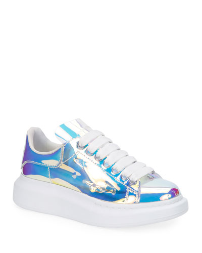 Fantasy Transparent Lace-Up Sneakers