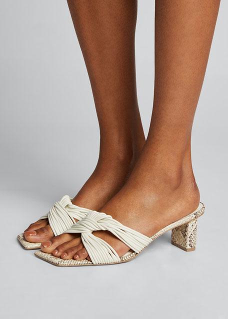 Calisse Slide Knot Sandals