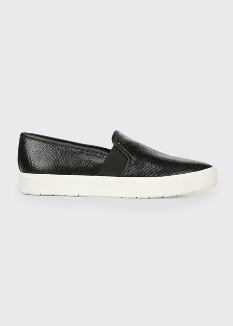 Blair 5 Snake-Print Slip-On Sneakers