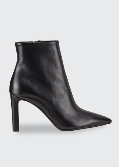 Kate Pointed-Toe Zip Booties