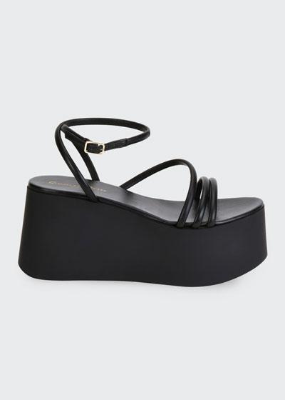 20mm Strappy Flatform Sandals
