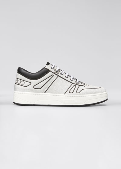 Hawaii Metallic Flatform Low-Top Sneakers