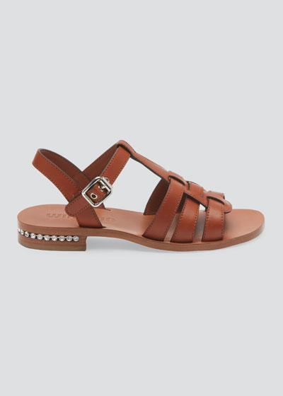 25mm Crystal Detail Sandals