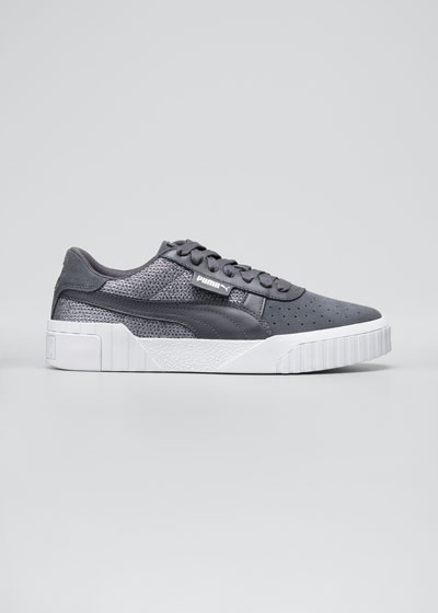 Cali Platform Suede Sneakers