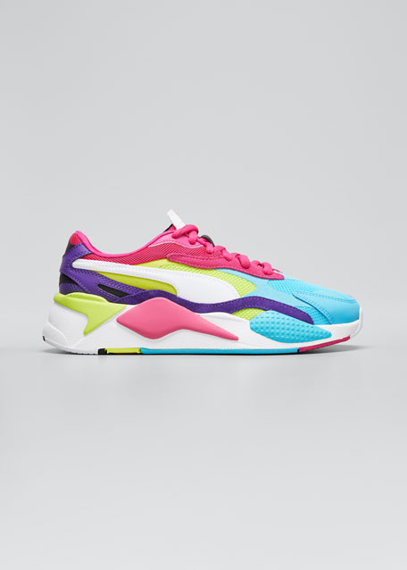 RS-X3 Puzzle Colorblock Running Sneakers