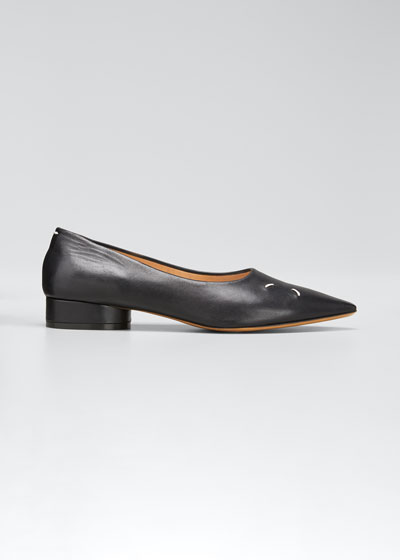 Kiki Pointed-Toe Loafers
