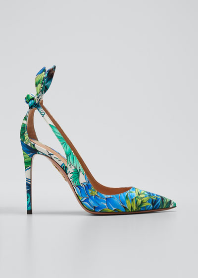 Deneuve Tropical Stiletto Pumps