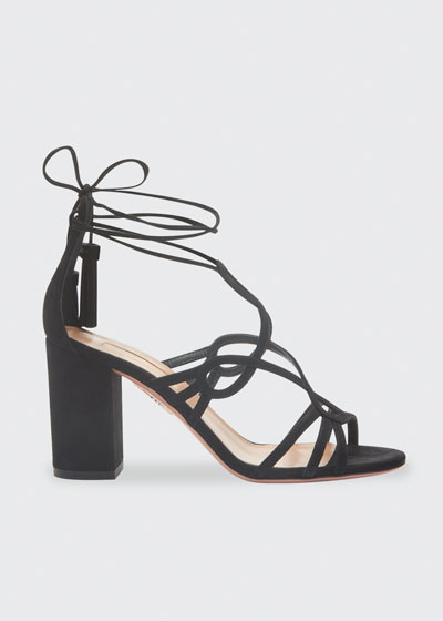 Gitana 85mm Suede Sandals
