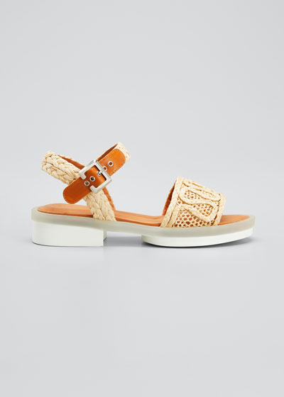 Felepie 30mm Raffia Rubber Sandals
