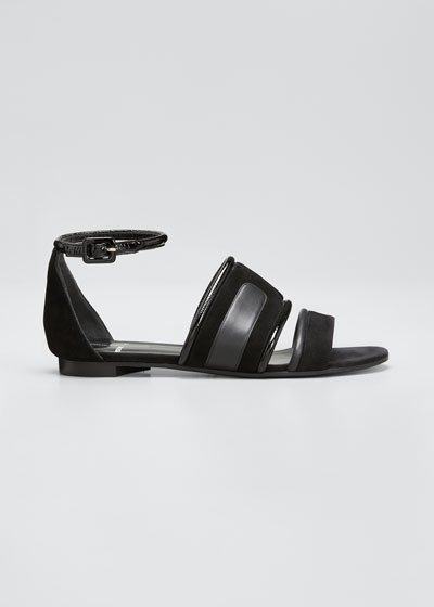 Targa Flat Strappy Sandals