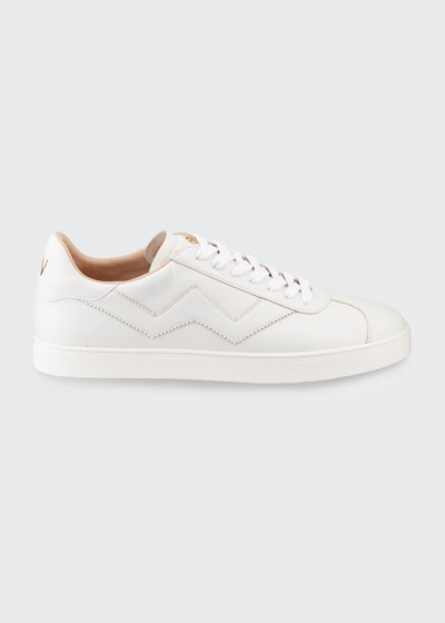 Daryl Leather Low-Top Sneakers