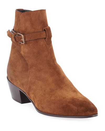 Wyatt Suede Ankle Booties