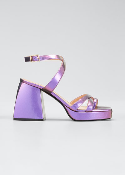 Bulla Siler 85mm Metallic Sandals