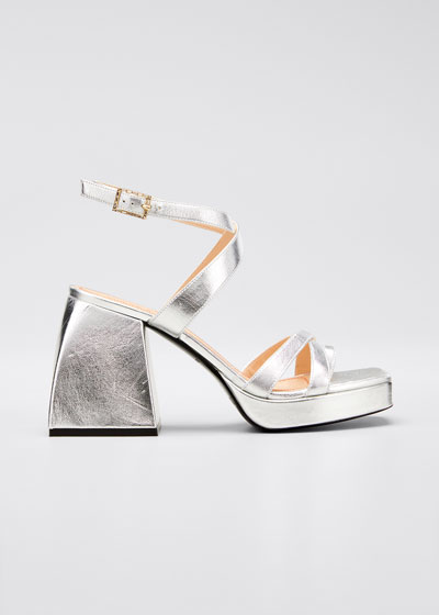 Bulla Siler 85mm Leather Sandals