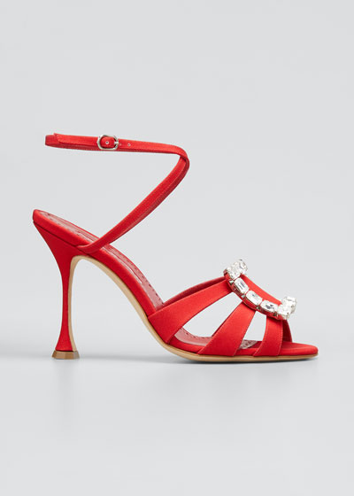 Ticuna Buckle Strappy Sandals