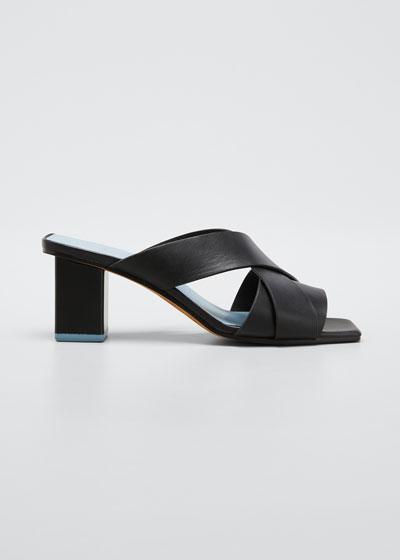 Jetta Crisscross Slide Sandals