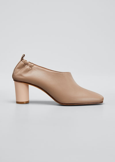 Micol Soft Leather Ankle booties