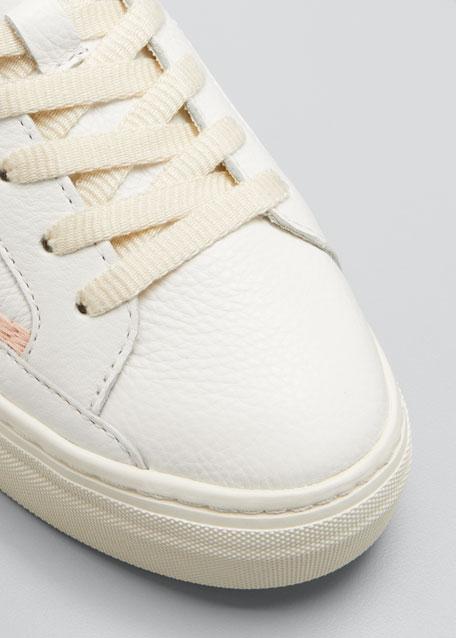 Hawaiian Fauna Embroidered Low-Top Sneakers