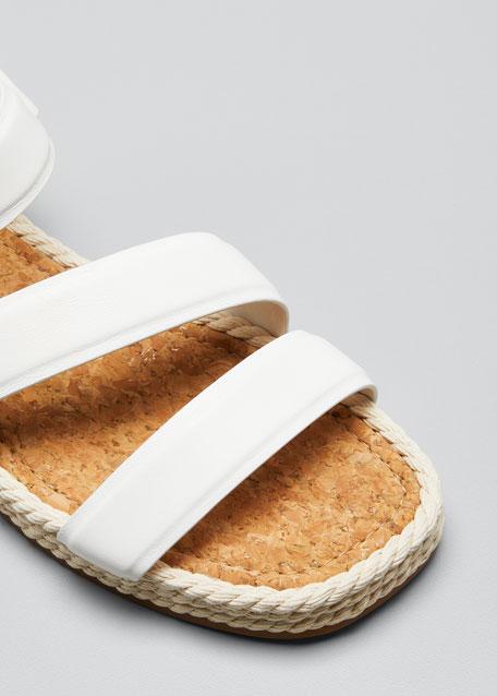 Elian Leather Flatform Sport Sandals