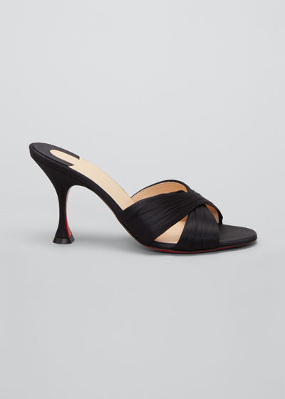 Nicol is Back Red Sole Slide Sandals