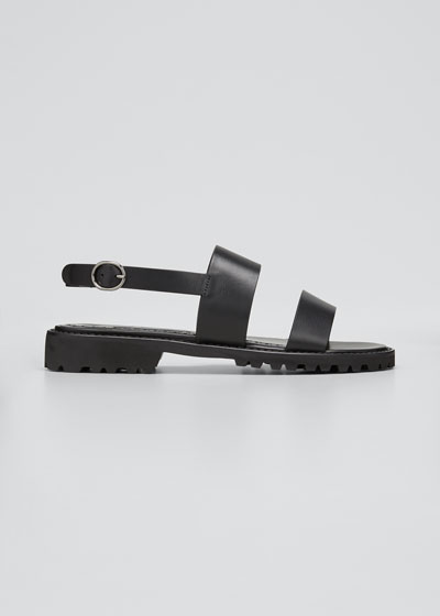 Gad Two-Band Slingback Sandals