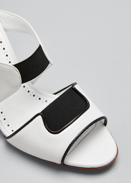Abeba Two-Band Slide Sandals