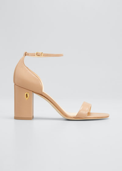 85mm Napa Block-Heel Sandals