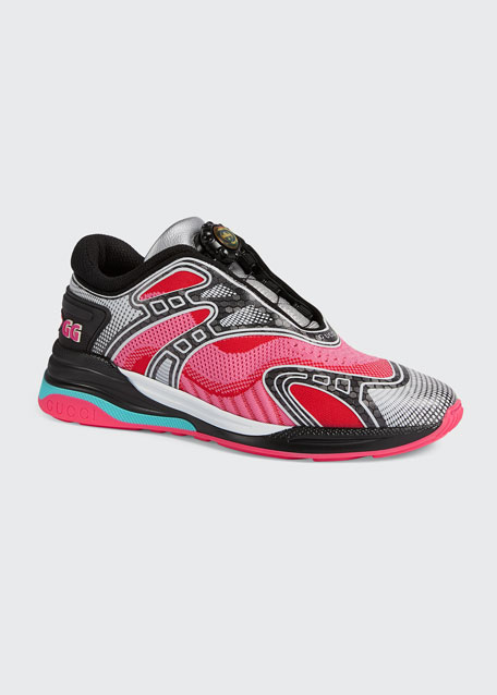 Ultrapace R Two-Tone Mismatch Sneakers