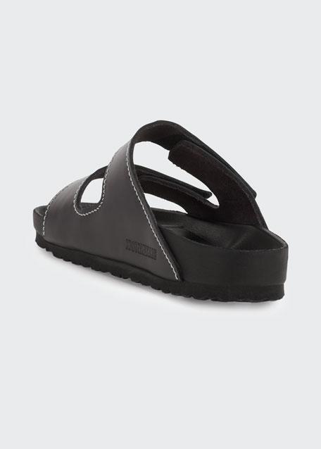 Arizona Double Grip-Strap Slide Sandals