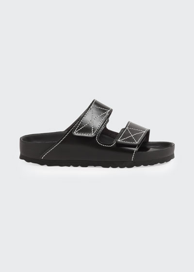 x Proenza Schouler Arizona Double Grip-Strap Slide Sandals