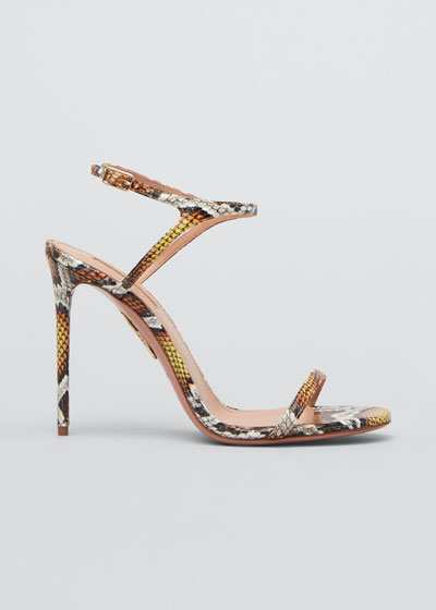 Naked 105mm Snake Sandals