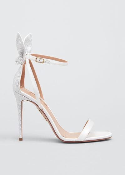 Deneuve Bridal 105mm Crystal Sandals