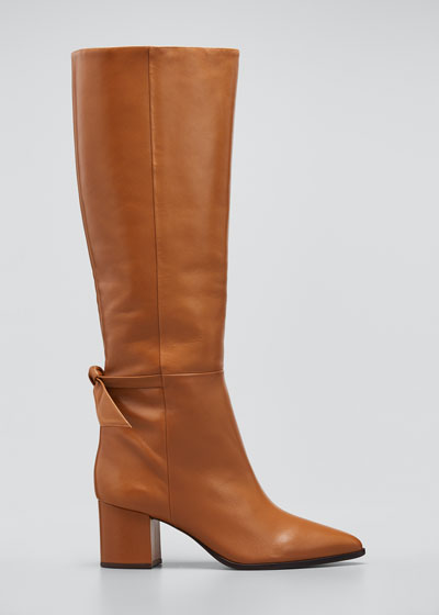 Clarita Tall Leather Boots