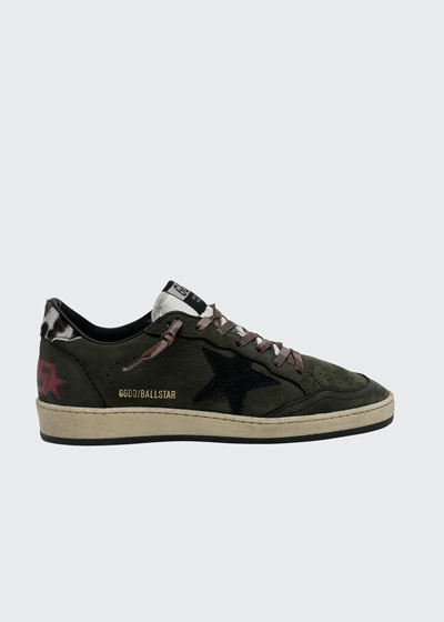 Ball Star Suede Low-Top Sneakers
